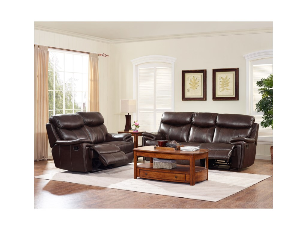 New Classic AriaReclining Living Room Group
