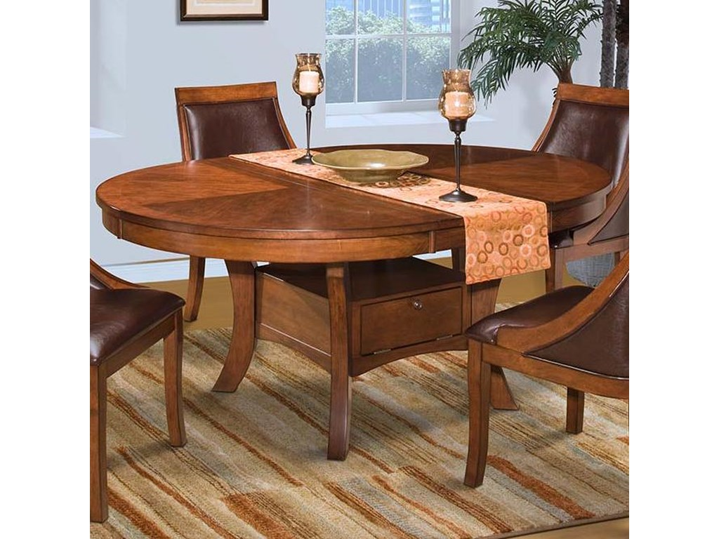 New Classic AspenRound Dining Table w/ Base