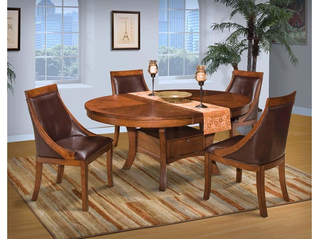 New Classic AspenRound Table Club Chair