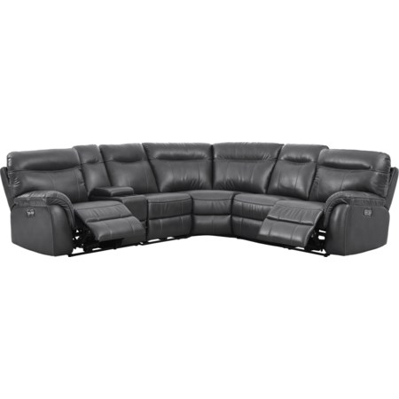 5 Seat Power Sectional