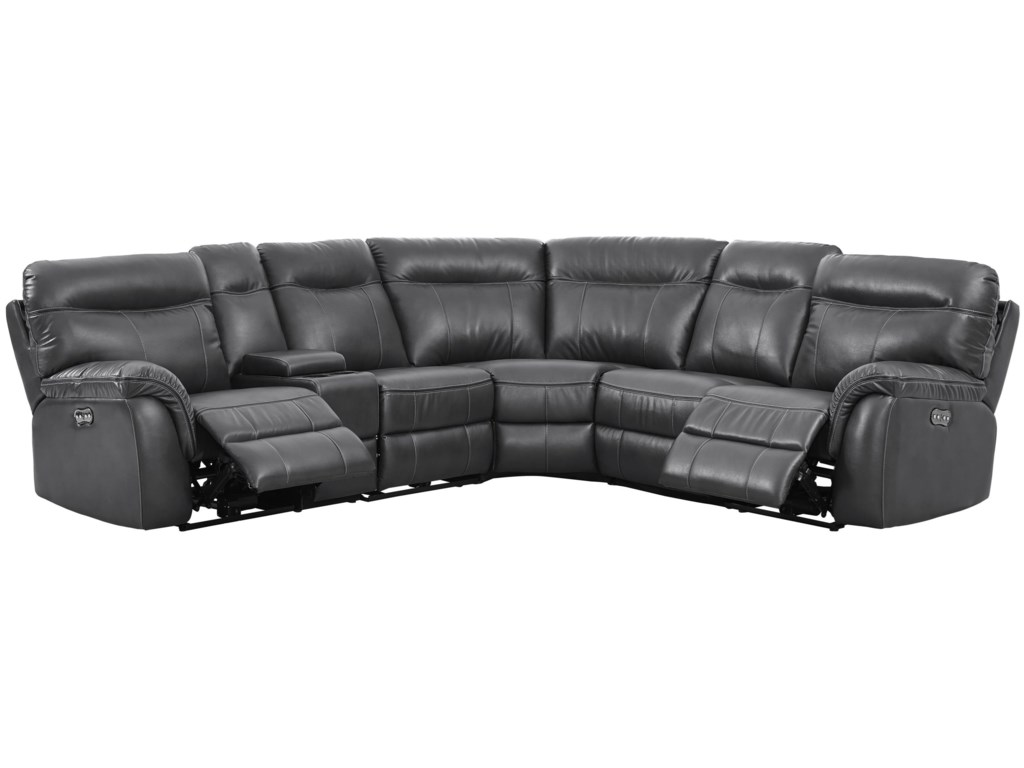 New Classic Atlas5 Seat Power Sectional