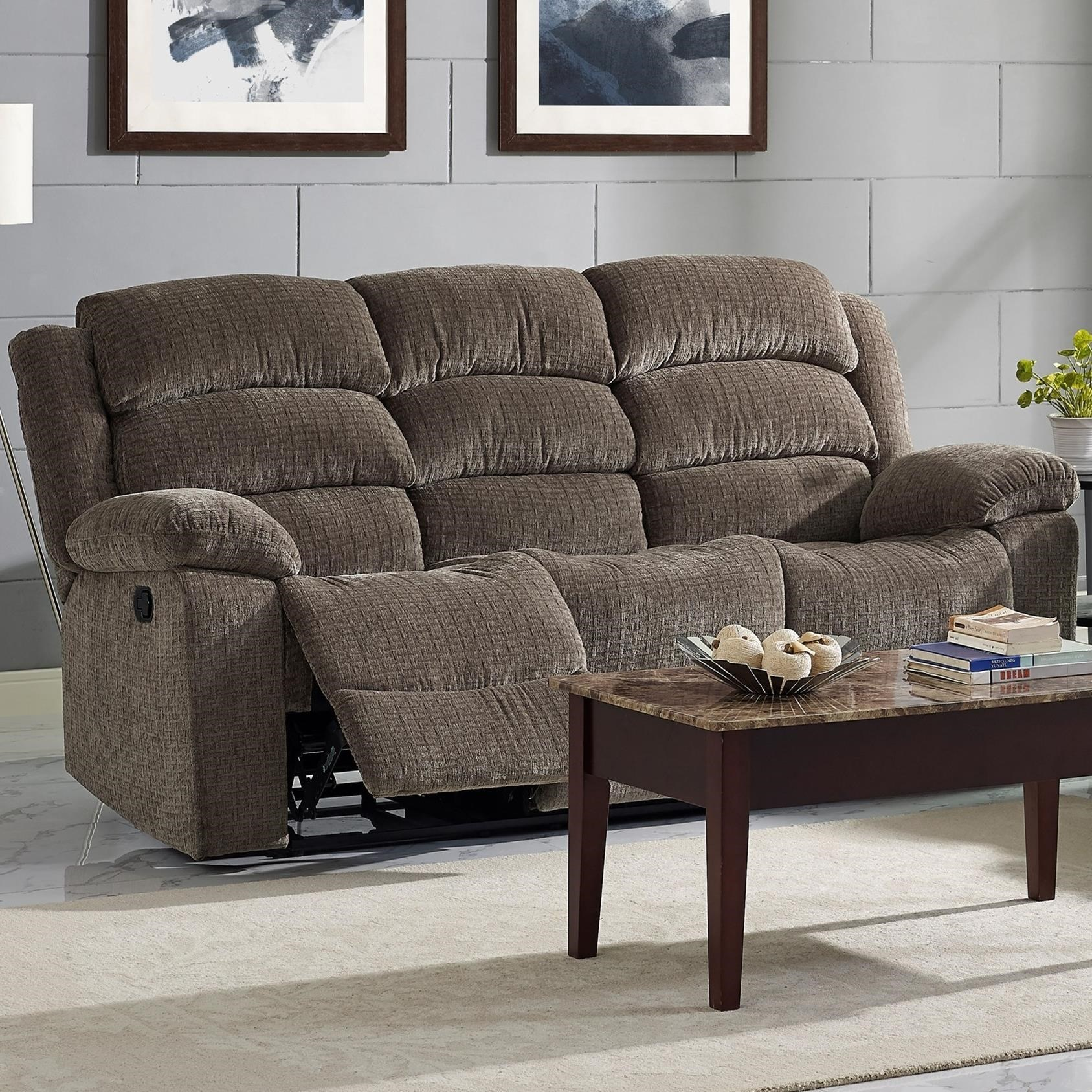Beau New Classic AustinPower Reclining Sofa