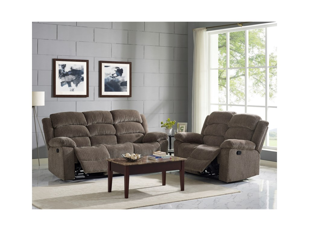 New Classic AustinReclining Living Room Group