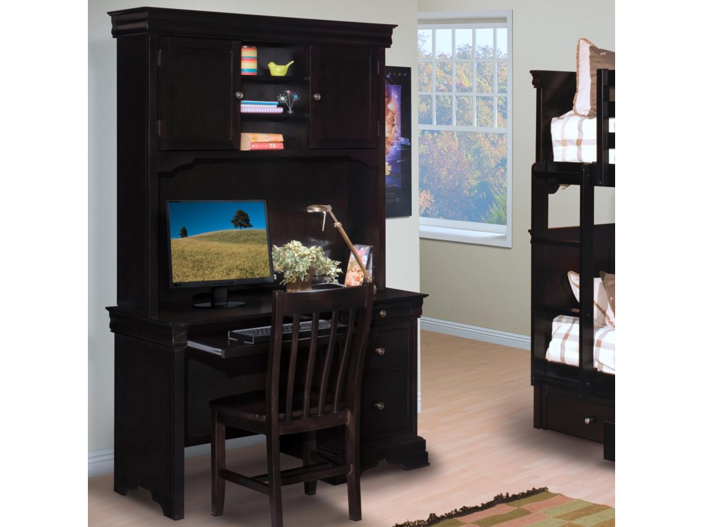 New Classic Belle Rose YouthDesk and Hutch