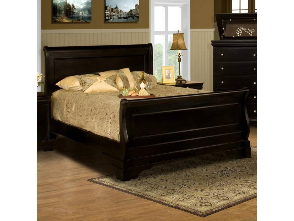 New Classic Belle RoseCalifornia King Sleigh Bed