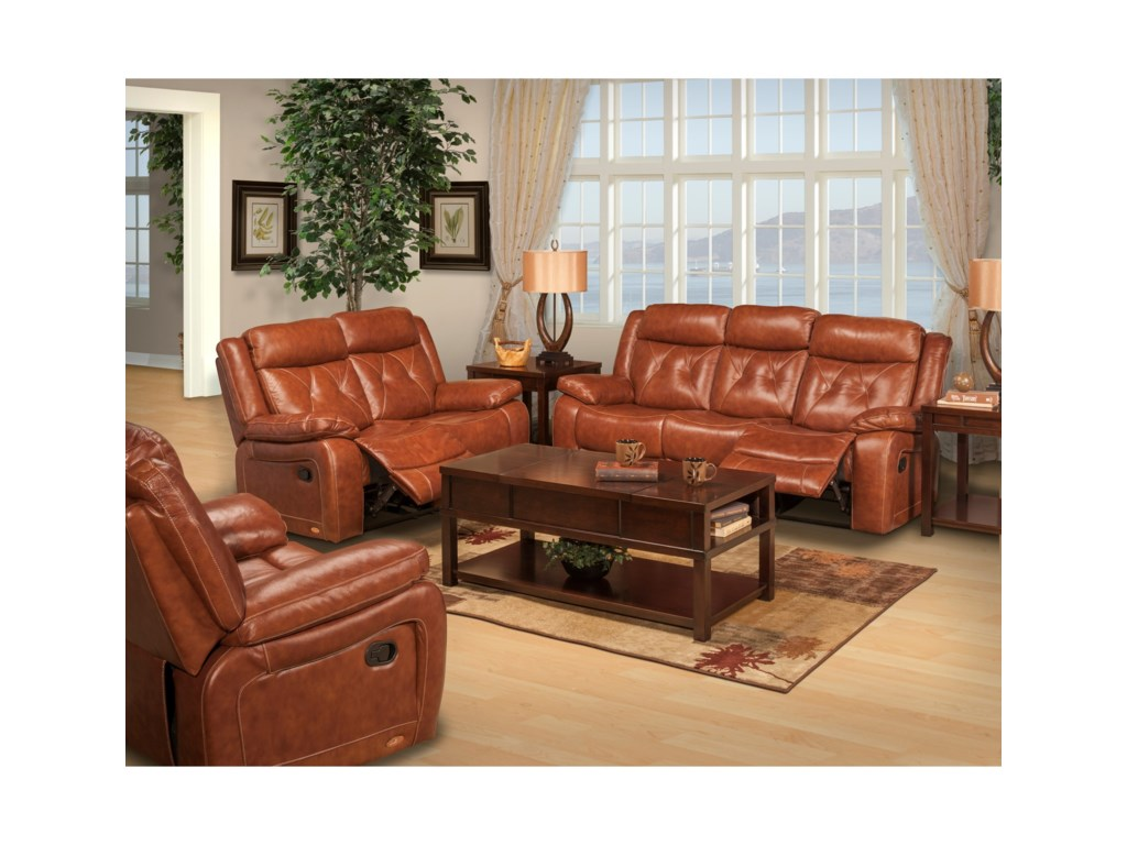 New Classic BenedictPower Reclining Living Room Group