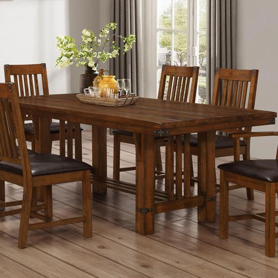 New Classic Buchanan Dining Table with Trestle Base  : products2Fnewclassic2Fcolor2Fbuchanan20d2514d2514 10 b1jpgscalebothampwidth500ampheight500ampfsharpen25ampdown from www.wilsonhomefurnishings.com size 500 x 500 jpeg 64kB