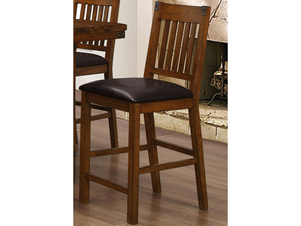 New Classic Buchanan Counter Stool with Slat Design | Miskelly ...