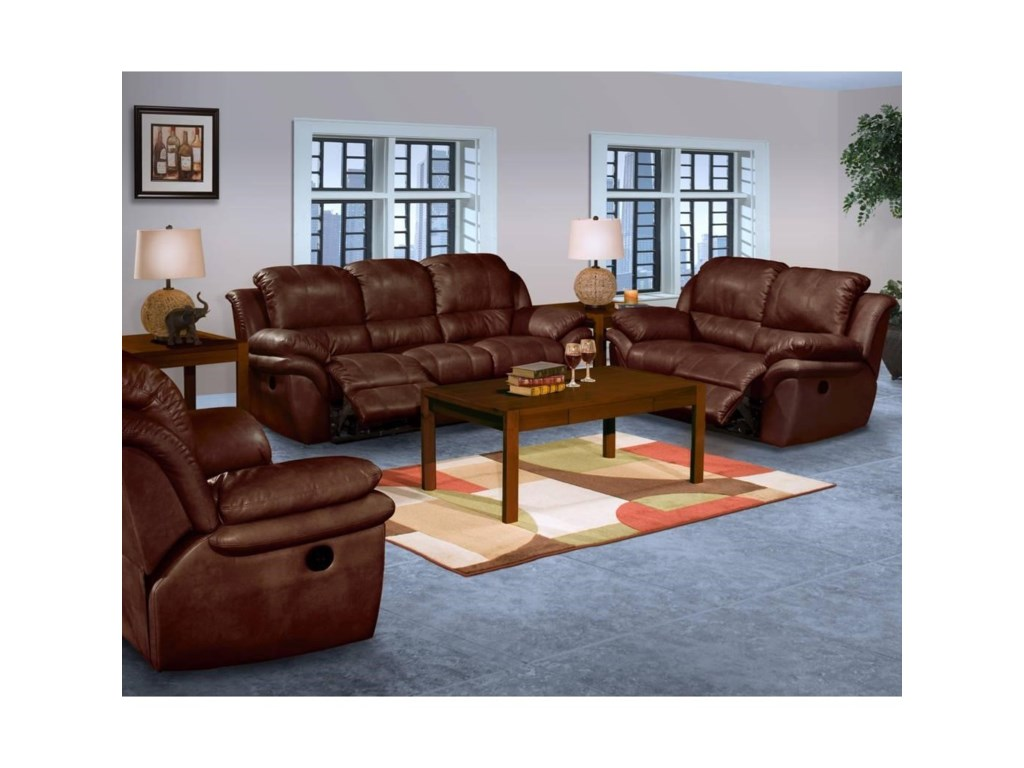 New Classic CaboReclining Living Room Group