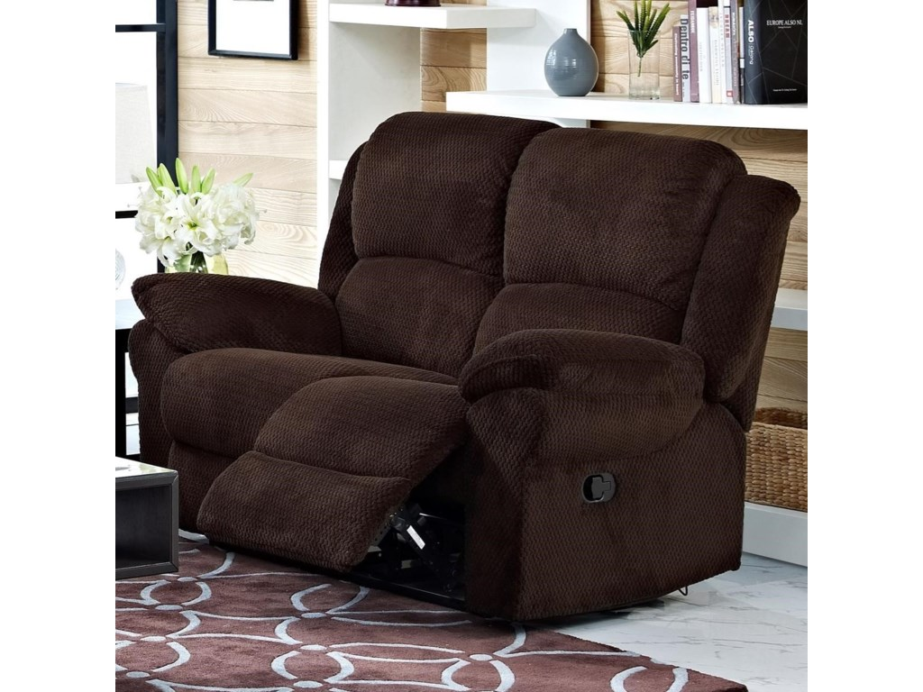 New Classic CabotPower Reclining Loveseat