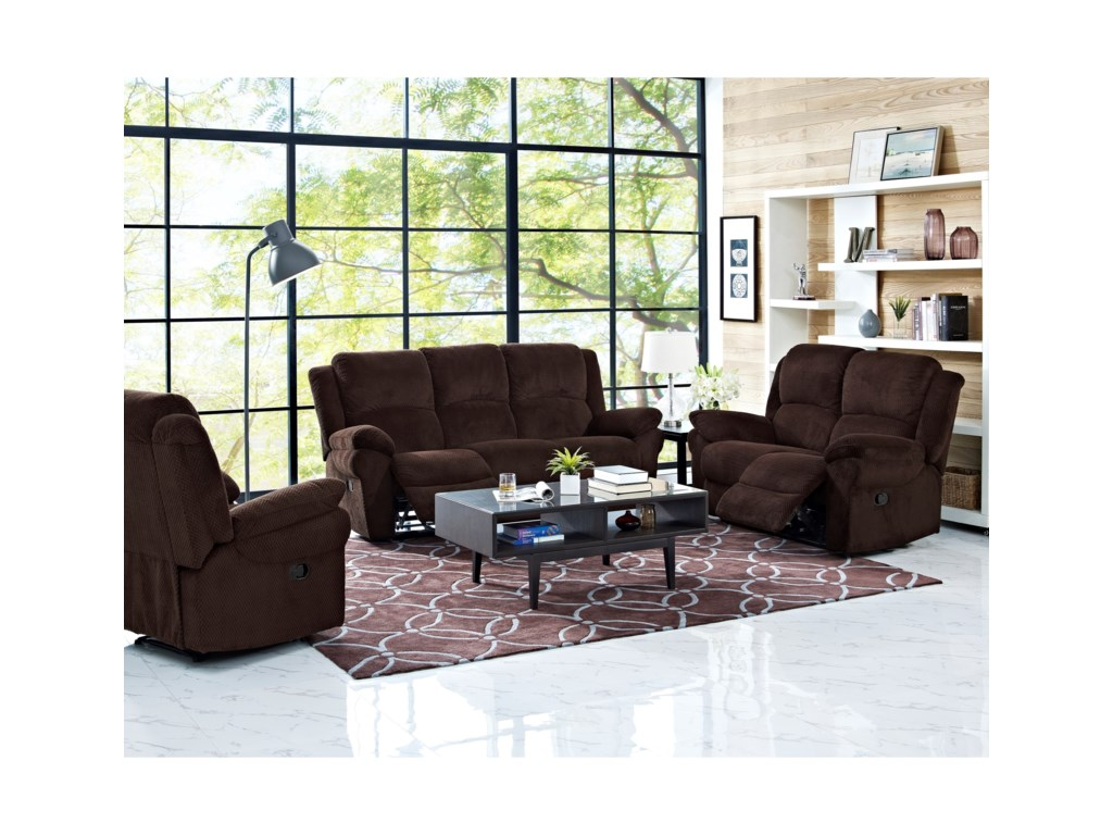 New Classic CabotPower Reclining Sofa