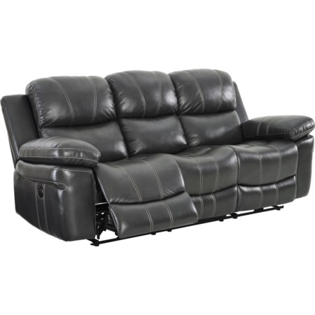 Power Dual Reclining Sofa With USB Port