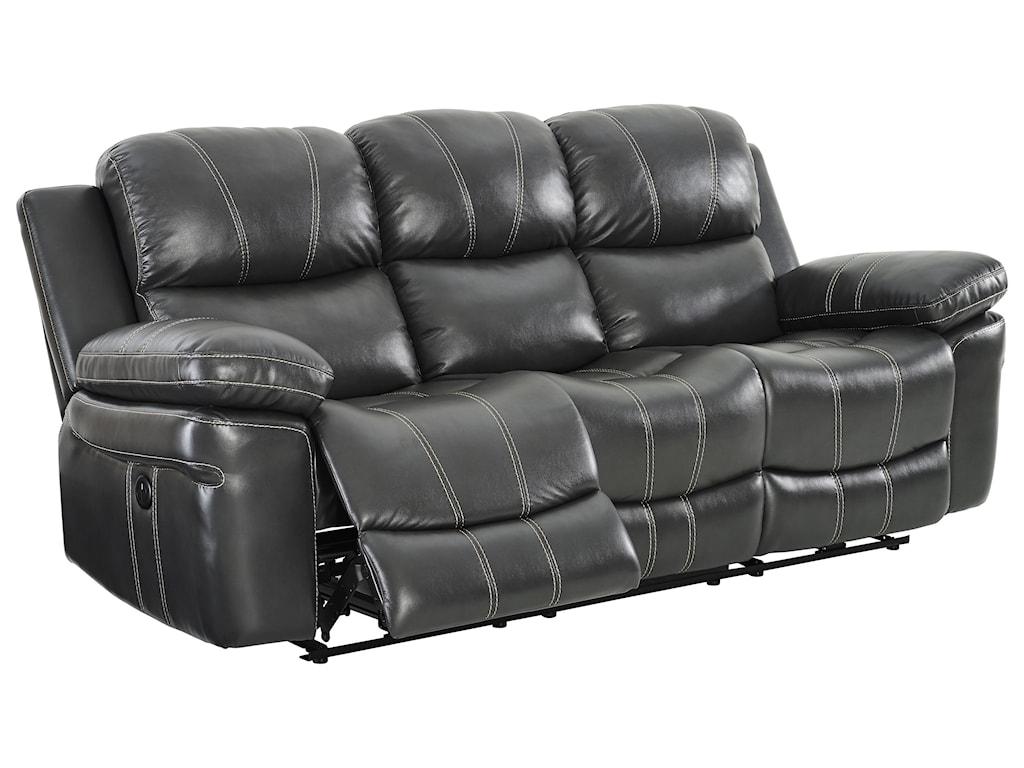 New Classic CadencePower Dual Reclining Sofa With USB Port