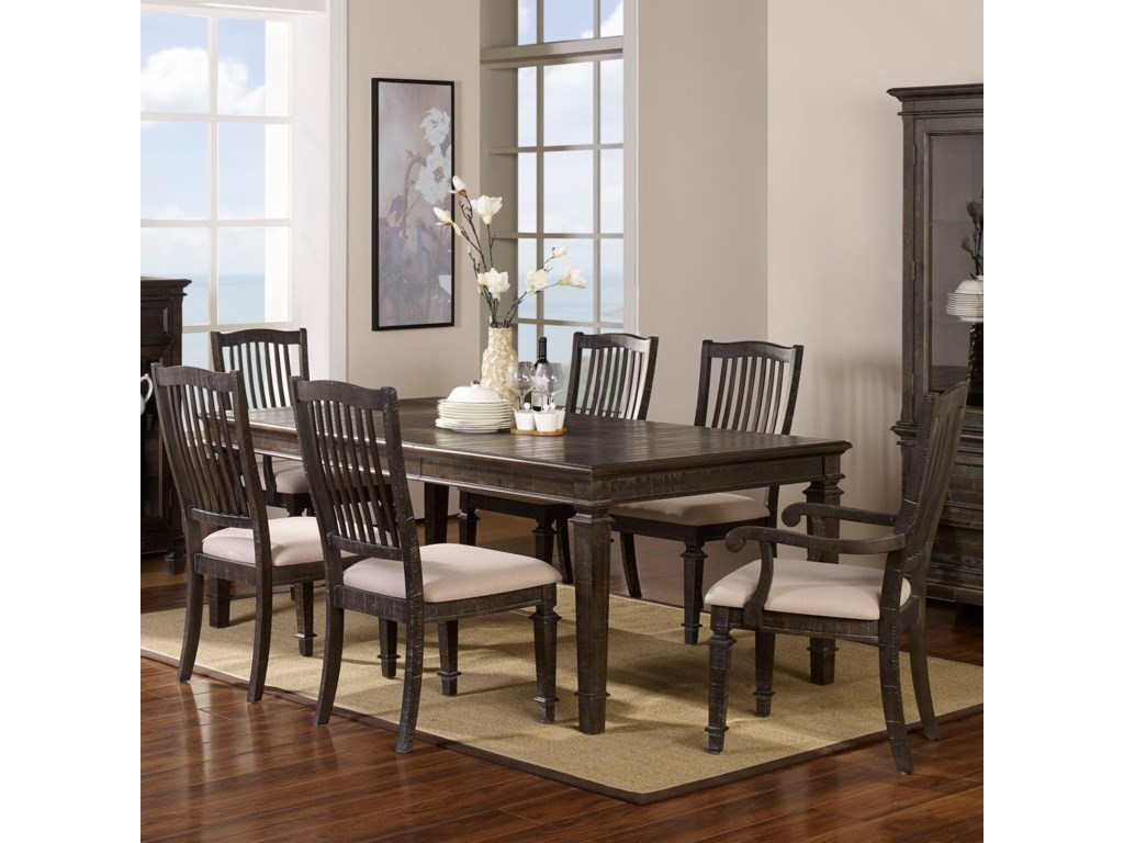 New Classic Cadiz Dining7 Piece Table and Chair Set