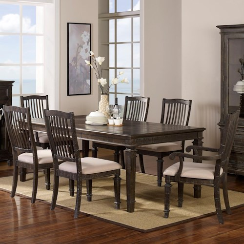New Classic Cadiz Dining 7 Piece Table and Chair Set