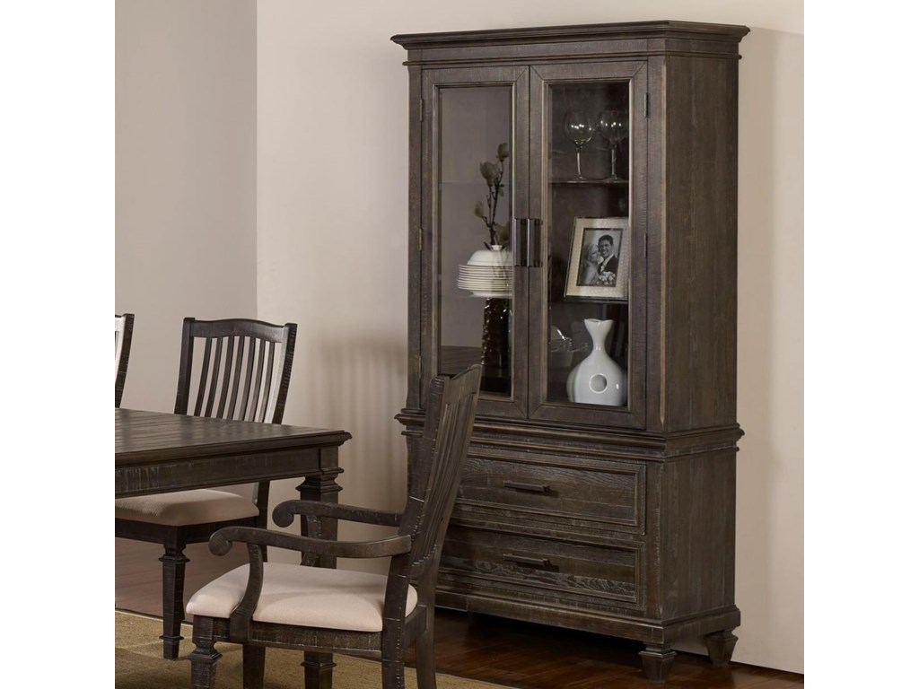 New Classic Cadiz Dining Transitional Wine Cabinet With Touch Lighting