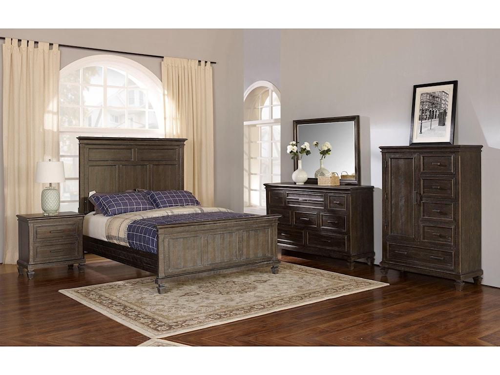 New Classic Cadiz BedroomQueen Bedroom Group
