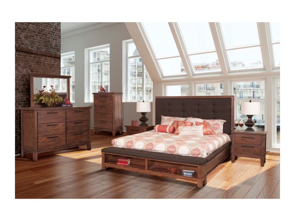 New Classic CagneyQueen Bedroom Group