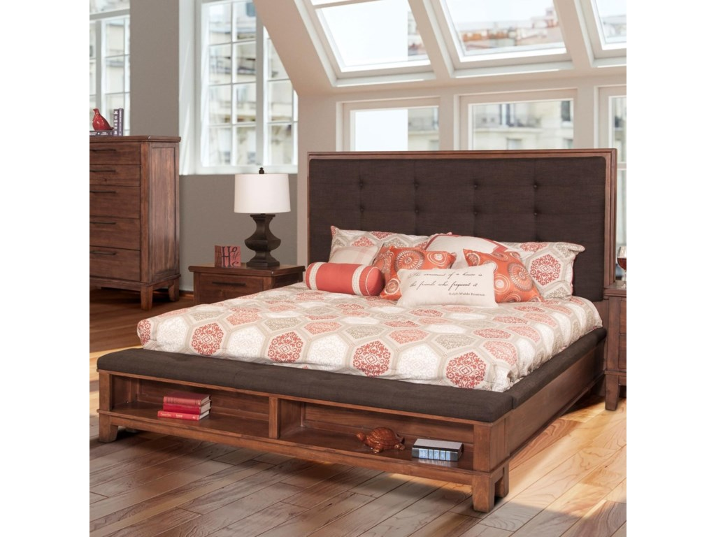 New Classic CagneyCalifornia King Platform Bed