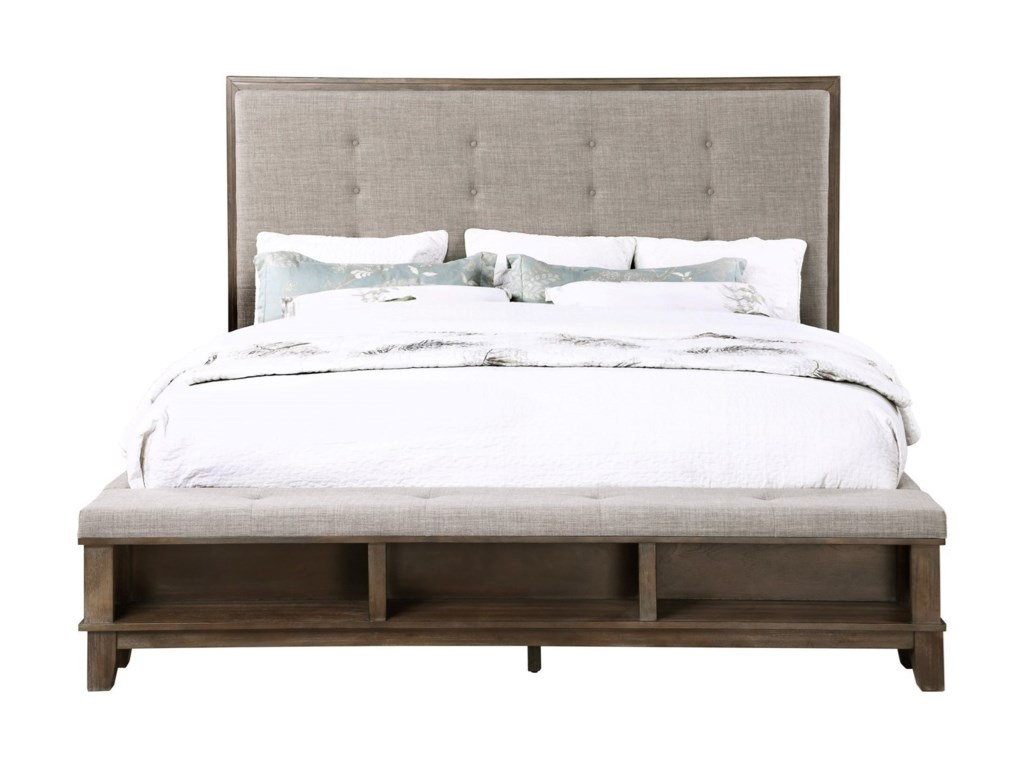 New Classic Cagney3 Piece Queen Platform Bed