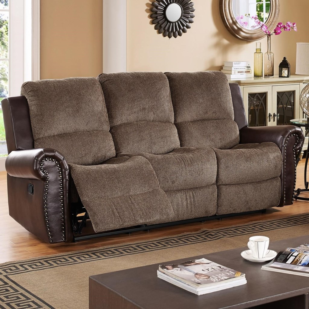 New Classic Callahan 22 2239 30p Coc Traditional Power Reclining  ~ Traditional Reclining Sofa