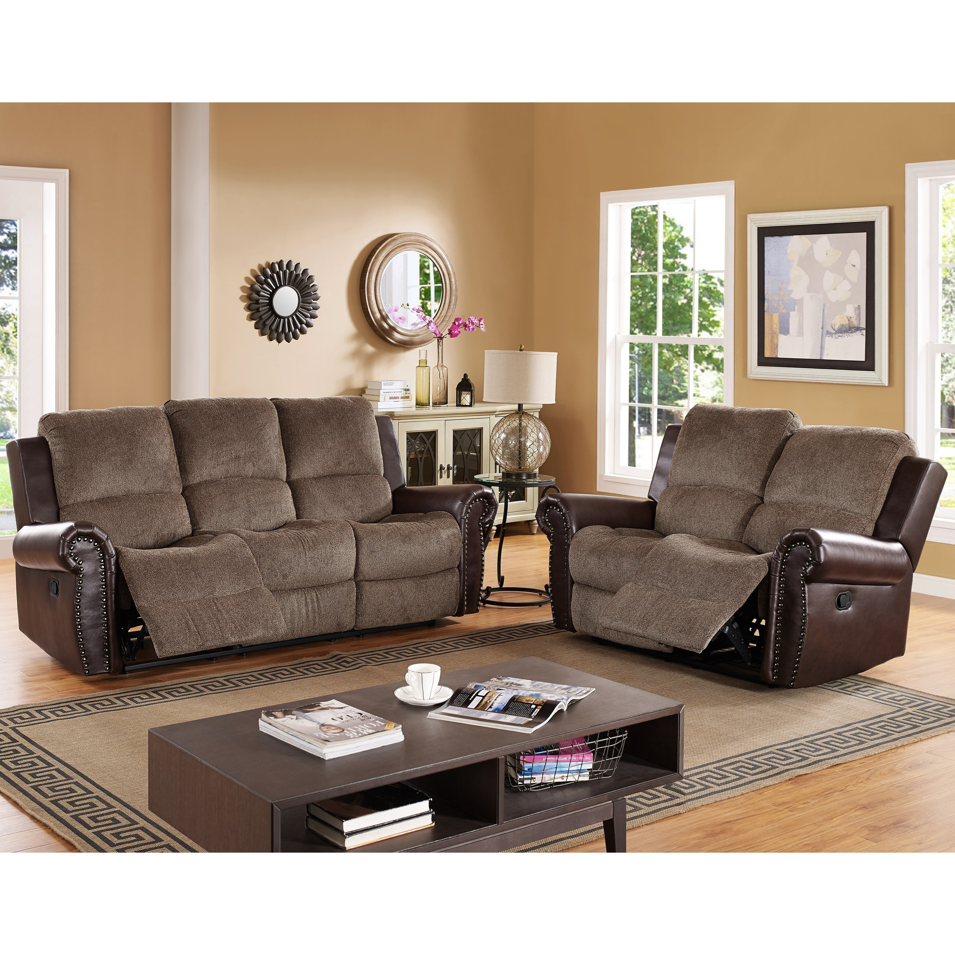Merveilleux New Classic CallahanPower Reclining Living Room Group