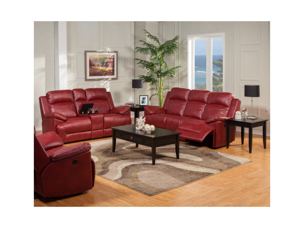 New Classic CortezPower Reclining Living Room Group