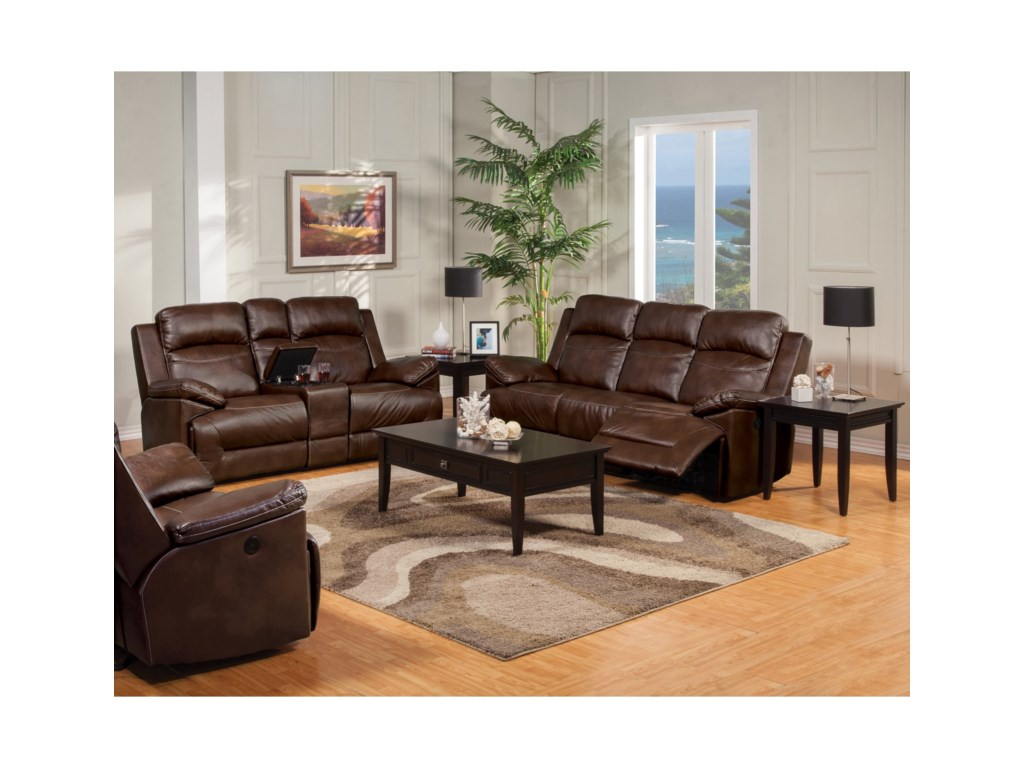 New Classic CortezReclining Living Room Group