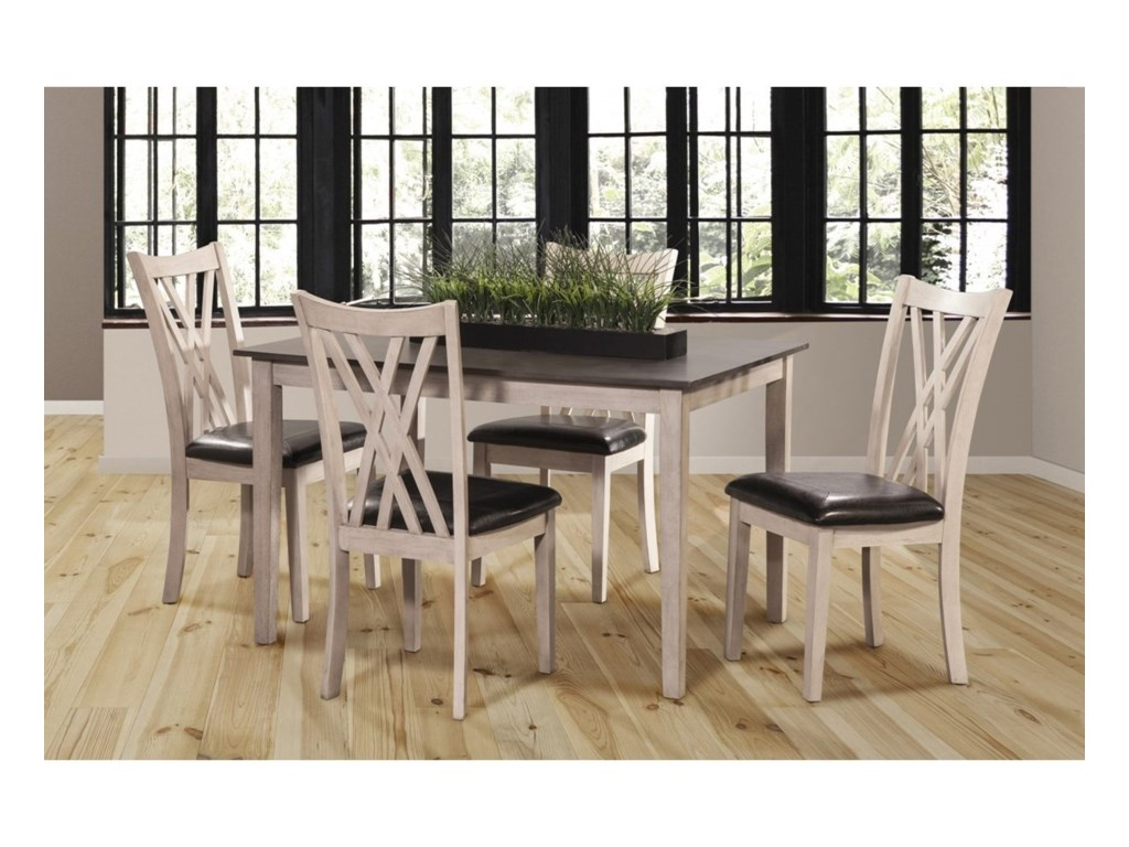 New Classic Paige5 Piece Dining Set