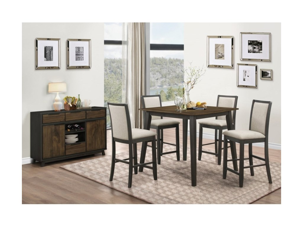 New Classic Studio 26Casual Dining Room Group