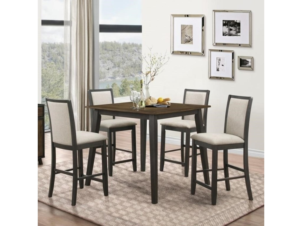 New Classic Studio 26Counter Height Table and Chair Set