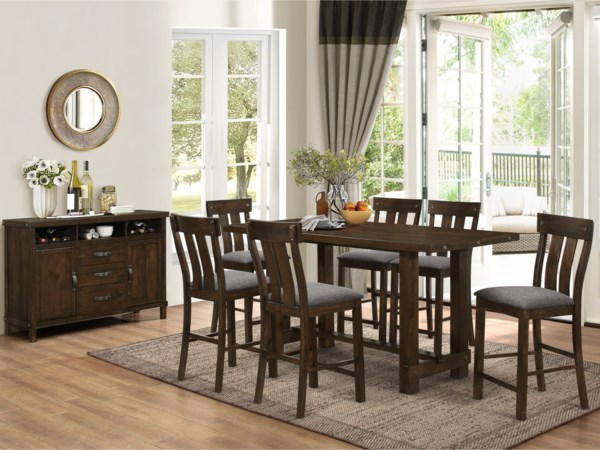 Counter Table Dining Room Group