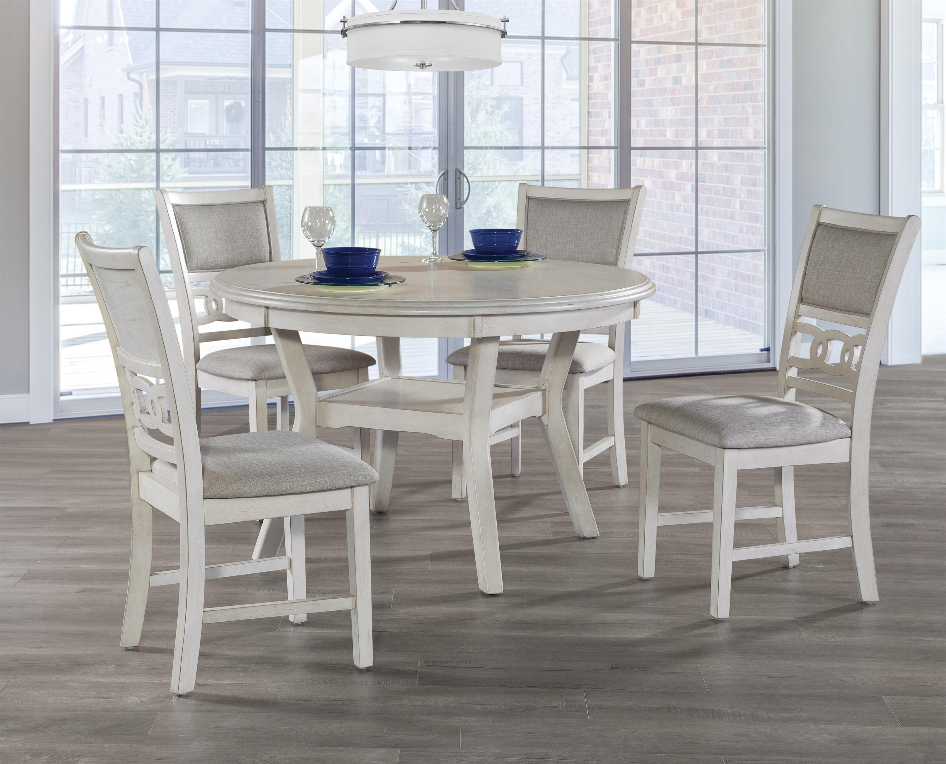 Delicieux New Classic GiaBisque Round Table U0026 4 Chairs