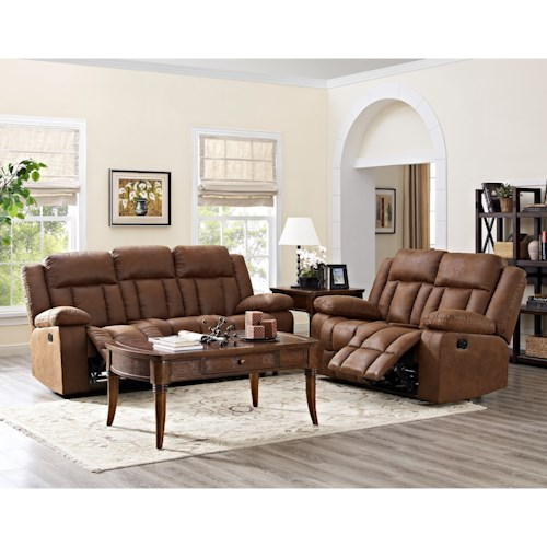 New Classic Hayes Reclining Living Room Group