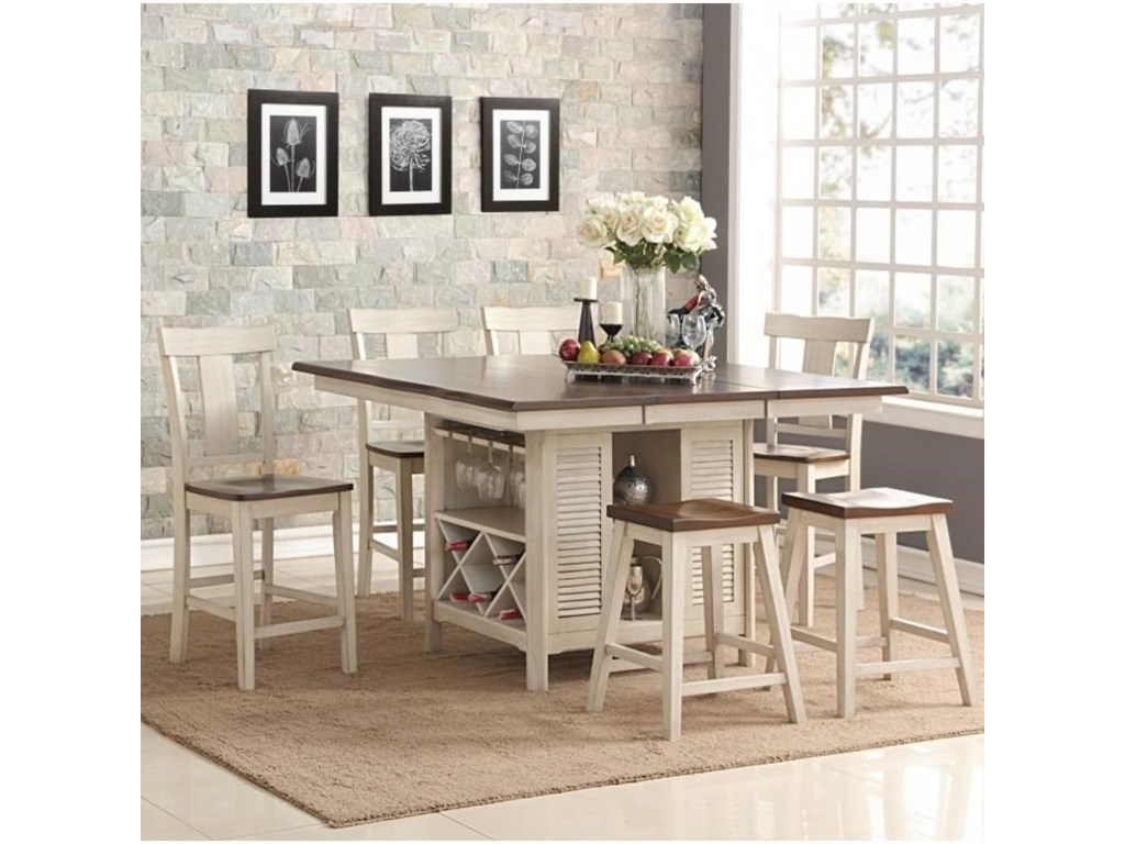 New Classic Heather7 Piece Table Set
