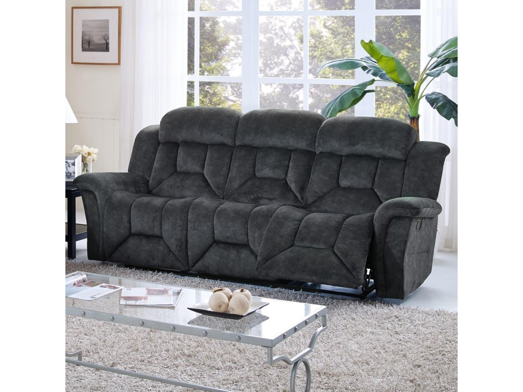 New Classic Jemma 22 2191 30p Casual Power Dual Recliner Sofa With