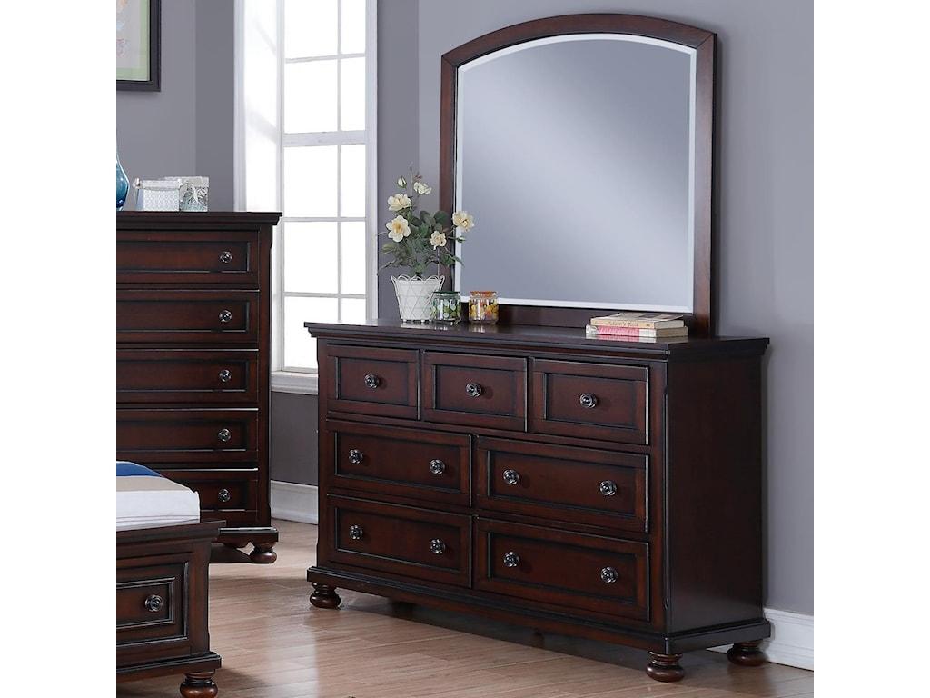 New Classic JesseDresser and Mirror Set