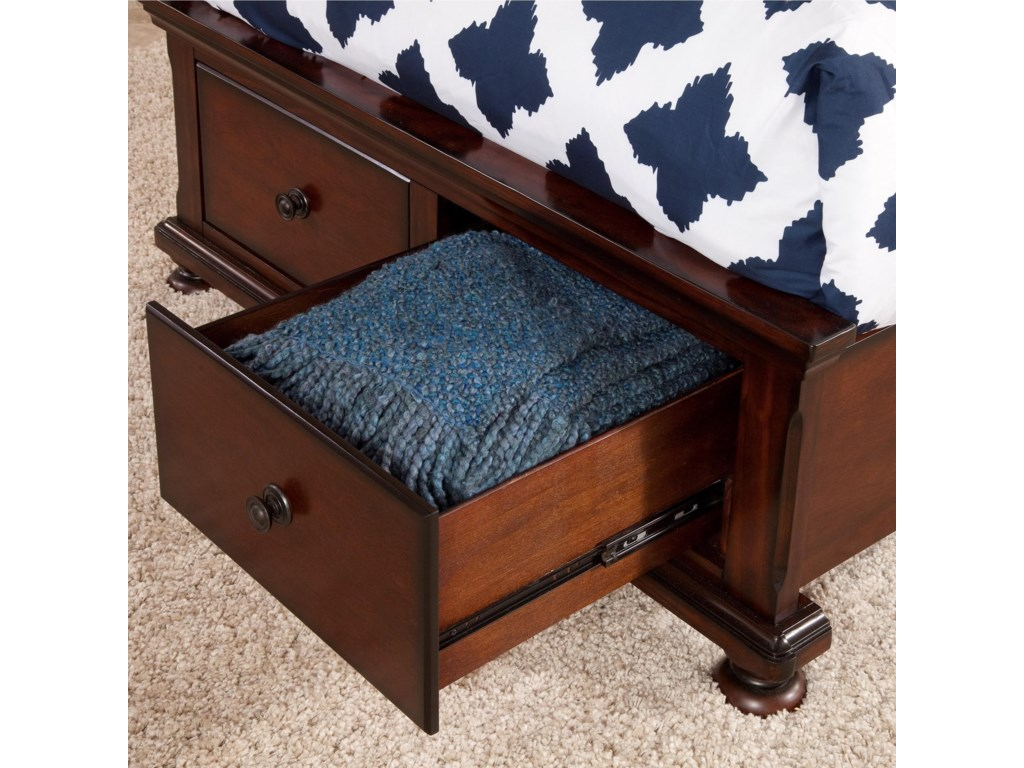 Footboard Drawers