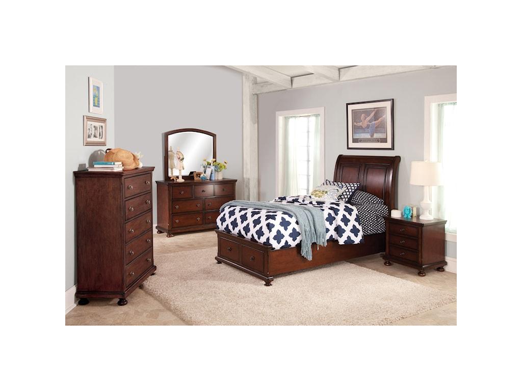 New Classic JesseFull Low Profile Storage Bed
