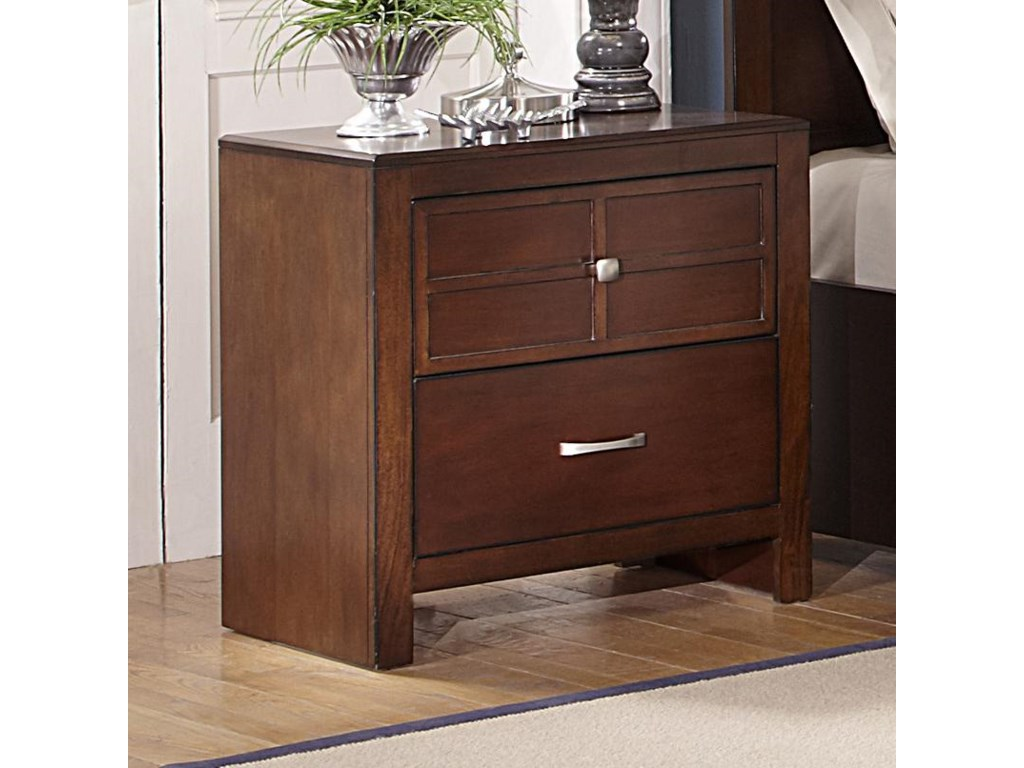 New Classic Kensington2-Drawer Nightstand