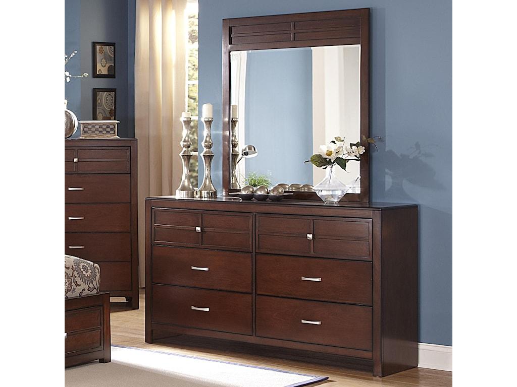 New Classic Kensington6-Drawer Dresser
