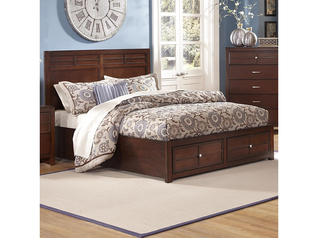 New Classic KensingtonCalifornia King Storage Bed
