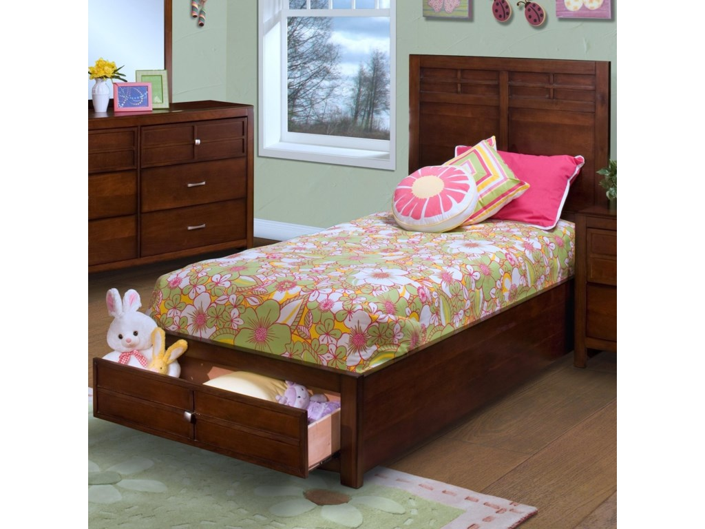 New Classic KensingtonTwin Storage Bed