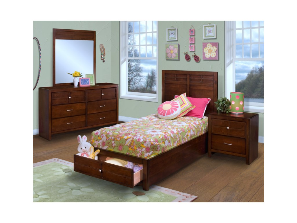 New Classic KensingtonTwin Bedroom Group