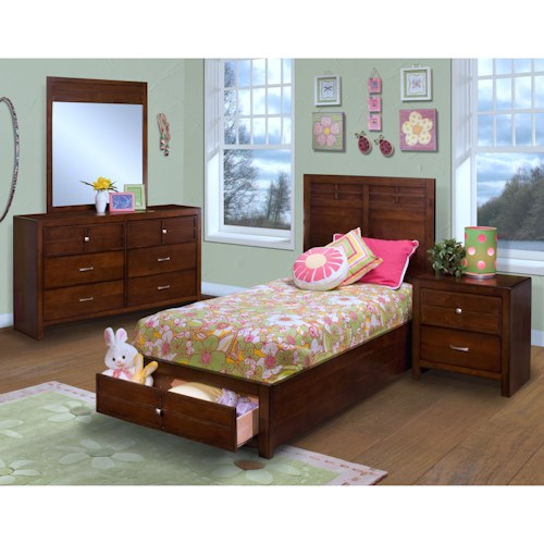 New Classic Kensington Twin Bedroom Group