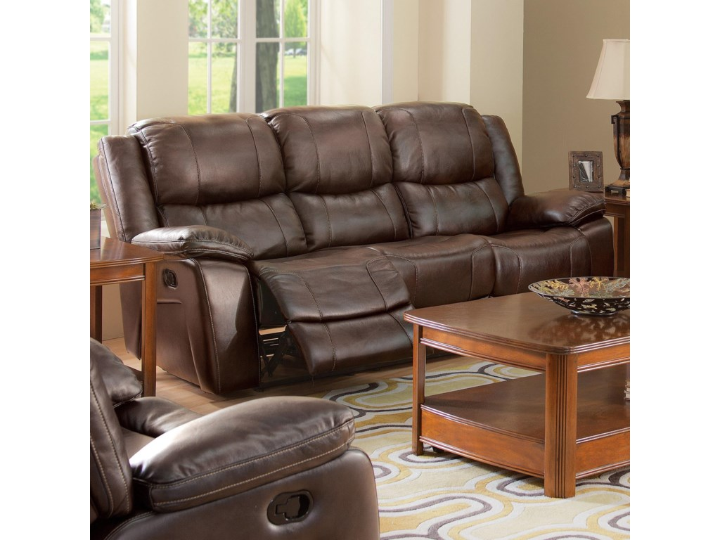 Reclining Sofa Shown May Not Represent Features Indicated