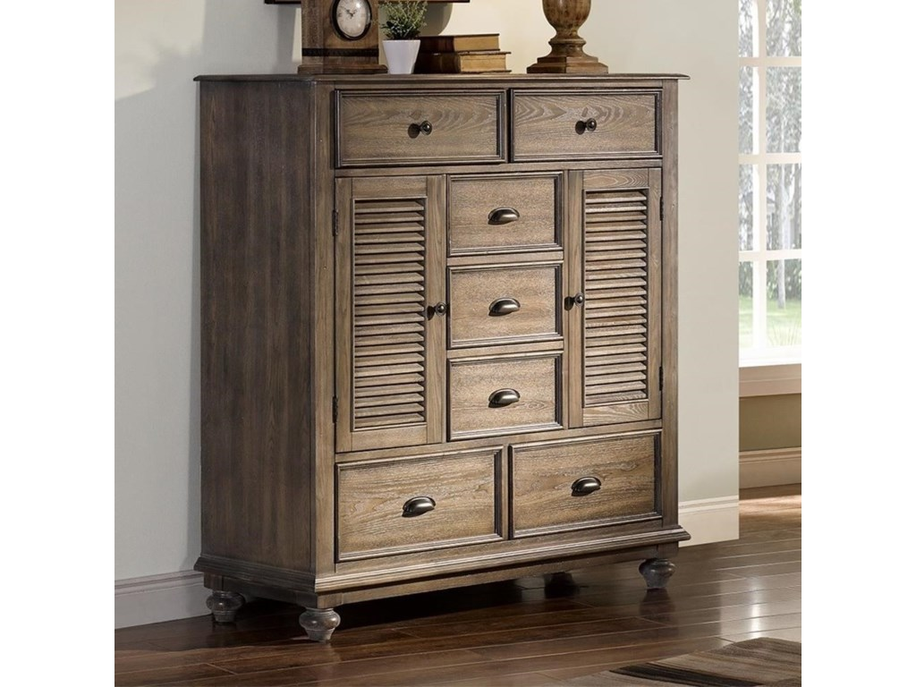 New Classic Lakeport PewterMule Chest