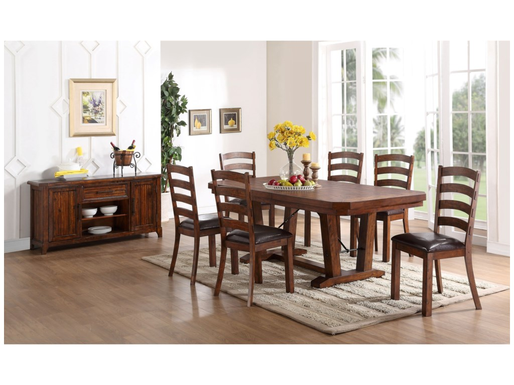 New Classic LanesboroFormal Dining Room Group