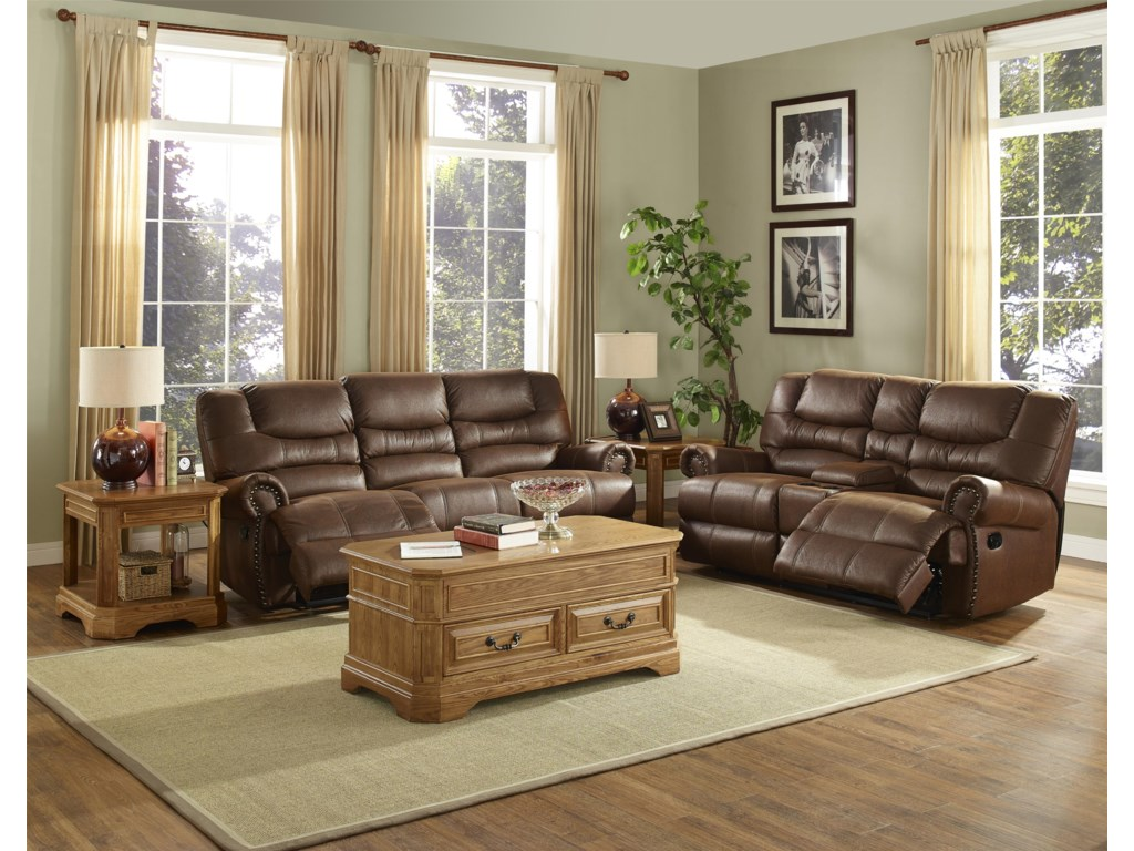 New Classic LaredoTraditional Duel Reclining Love Seat