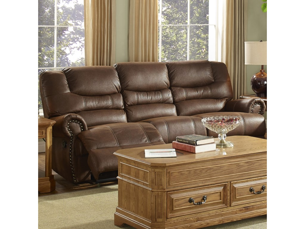 New Classic LaredoTraditional Dual Reclining Sofa